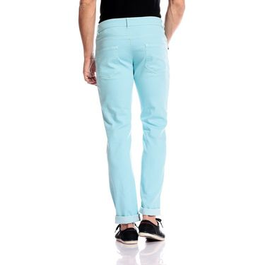 Good karma Cotton Chinos_gkj841 - Turquoise