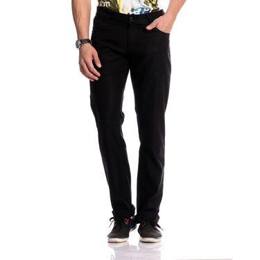 Good karma Cotton Chinos_gkj844 - Black
