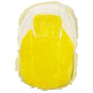Wonderkids Yellow Baby Small Fur Tent_MW652-YBSFT