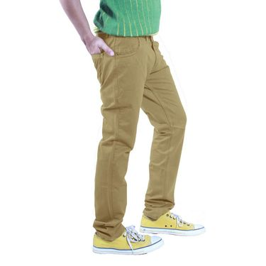Uber Urban Cotton Trouser_1426gkh - Beige
