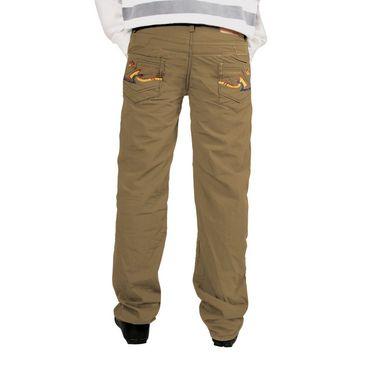 Uber Urban Cotton Trouser_158bndtrsbg - Beige