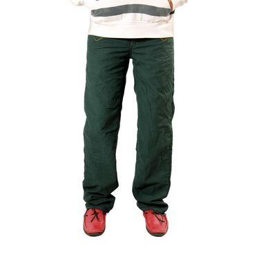 Uber Urban Cotton Trouser_bndtrschar - Green