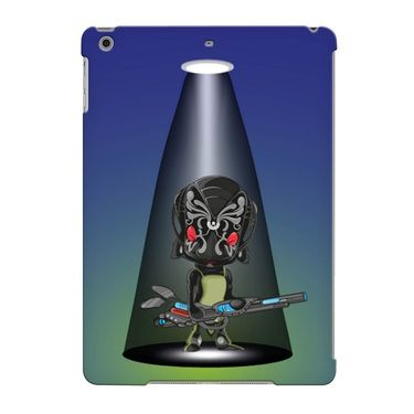 Snooky Digital Print Hard Back Case Cover For Apple iPad Air 23685 - Blue
