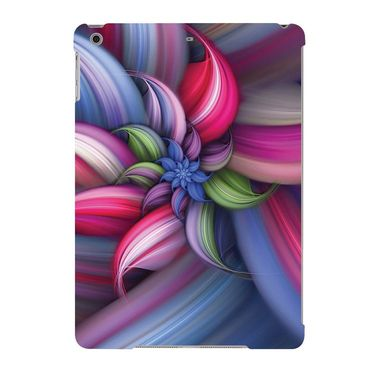 Snooky Digital Print Hard Back Case Cover For Apple iPad Air 23670 - Blue