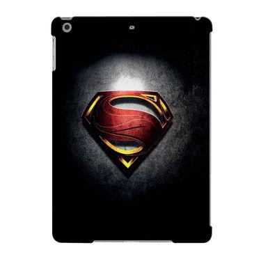 Snooky Digital Print Hard Back Case Cover For Apple iPad Air 23640 - Black