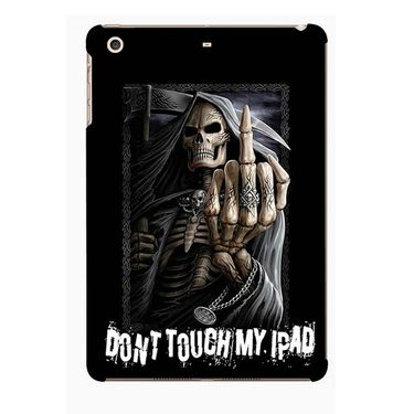 Snooky Digital Print Hard Back Case Cover For Apple iPad Mini 23746 - Black