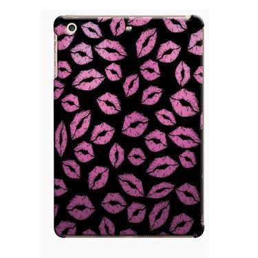 Snooky Digital Print Hard Back Case Cover For Apple iPad Mini 23769 - Black