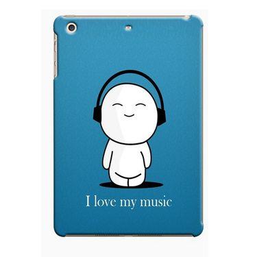 Snooky Digital Print Hard Back Case Cover For Apple iPad Mini 23785 - Blue