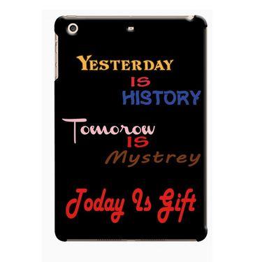Snooky Digital Print Hard Back Case Cover For Apple iPad Mini 23772 - Black