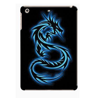 Snooky Digital Print Hard Back Case Cover For Apple iPad Mini 23805 - Black