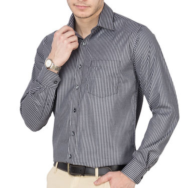 Pack of 3 Copperline Striped Formal Shirt_565860