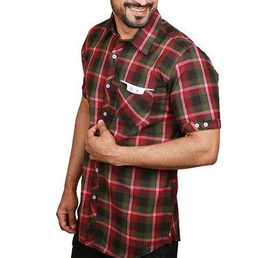 Sparrow Clothings Cotton Checks Shirt_wjc14 - Multicolor
