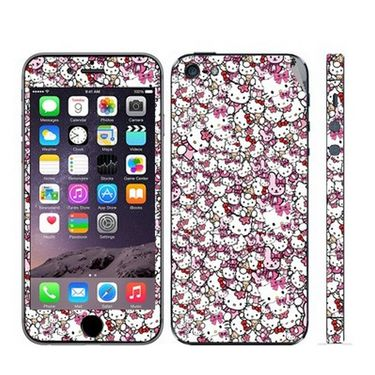 Snooky 28371 Digital Print Mobile Skin Sticker For Apple Iphone 5 - Multi