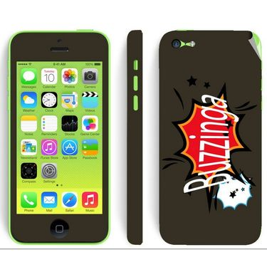 Snooky 28375 Digital Print Mobile Skin Sticker For Apple Iphone 5C - Multi