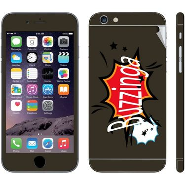 Snooky 28429 Digital Print Mobile Skin Sticker For Apple Iphone 6 Plus - Multi