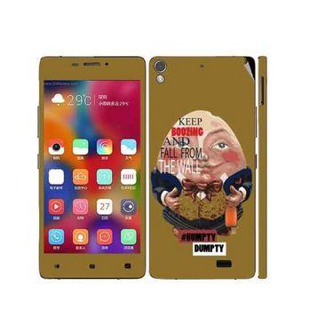 Snooky 27704 Digital Print Mobile Skin Sticker For Gionee Elife 5.1 - Multi