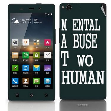 Snooky 27748 Digital Print Mobile Skin Sticker For Gionee Elife E6 - Multi