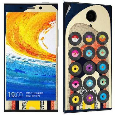 Snooky 27791 Digital Print Mobile Skin Sticker For Gionee Elife E7 - Multi