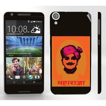 Snooky 28125 Digital Print Mobile Skin Sticker For HTC Desire 820 - Black