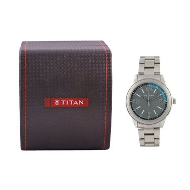 Titan Analog Designer Dial Watch_1585sm03 - Black