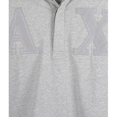 Branded Cotton Tshirt_3027 - Grey