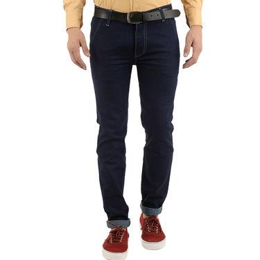 Branded Cotton Jeans_Npjwtx16 - Blue