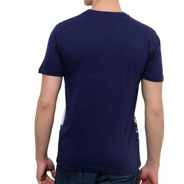 Okane Half Sleeves Tshirt_Ts45356n - Navy