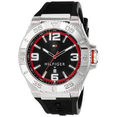 Tommy Hilfiger Round Dial Analog Watch_th1791034j - Black