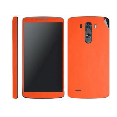 Snooky 38780 Mobile Skin Sticker For Lg G3 - Orange