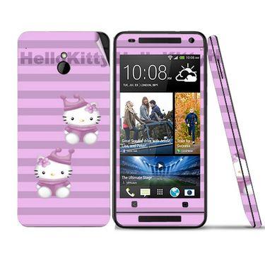 Snooky 39019 Digital Print Mobile Skin Sticker For HTC One mini - Purple