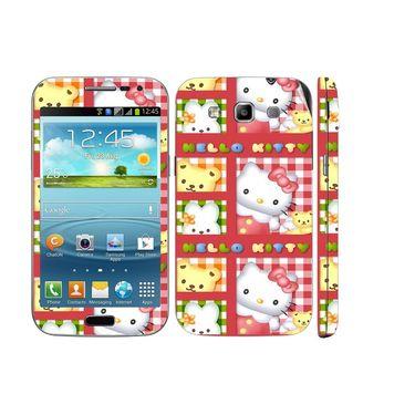 Snooky 39414 Digital Print Mobile Skin Sticker For Samsung Galaxy Grand Quattro 8552 - Pink