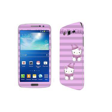 Snooky 39451 Digital Print Mobile Skin Sticker For Samsung Galaxy Grand 2 G7102 - Purple