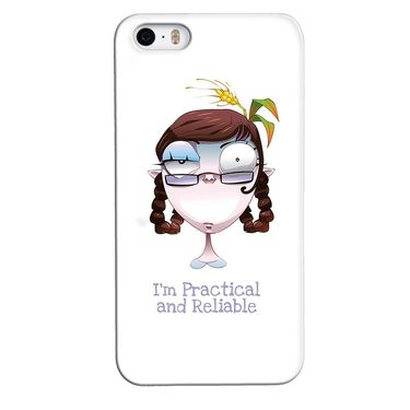 Snooky 35115 Digital Print Hard Back Case Cover For Apple iPhone 4s   - White