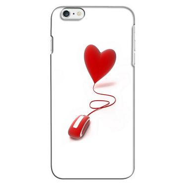Snooky 35221 Digital Print Hard Back Case Cover For Apple iPhone 6 - White