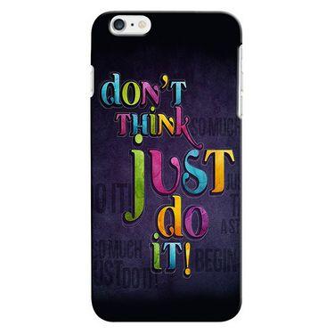 Snooky 35260 Digital Print Hard Back Case Cover For Apple iPhone 6 Plus - Black