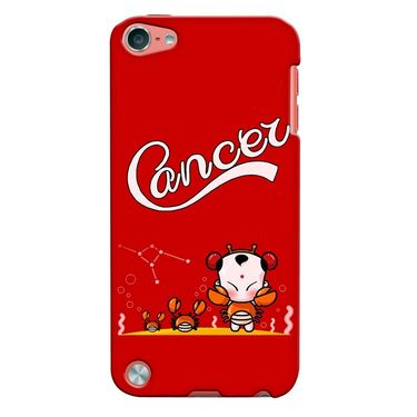 Snooky 35301 Digital Print Hard Back Case Cover For Apple iPod touch 5th Generation - Red
