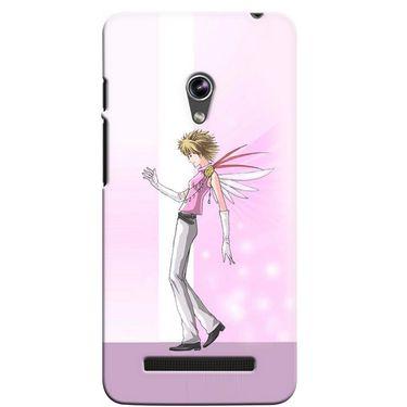 Snooky 36101 Digital Print Hard Back Case Cover For Asus Zenphone 5 - Pink