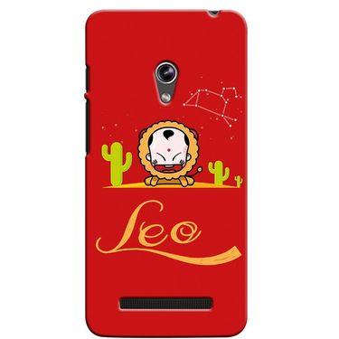 Snooky 36111 Digital Print Hard Back Case Cover For Asus Zenphone 5 - Red