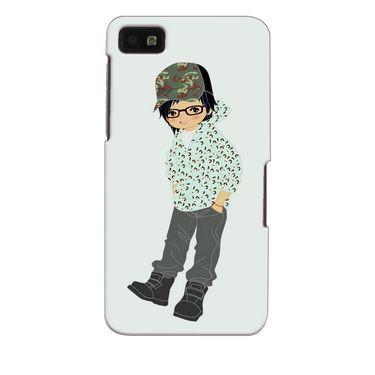 Snooky 35339 Digital Print Hard Back Case Cover For Blackberry Z10 - Green