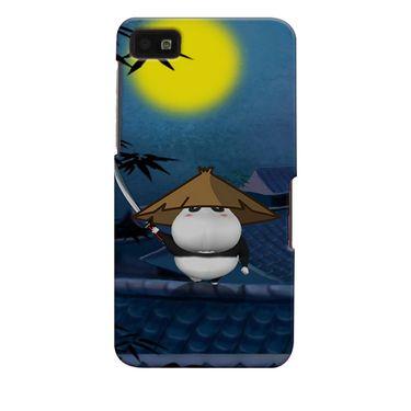 Snooky 35379 Digital Print Hard Back Case Cover For Blackberry Z10 - Blue