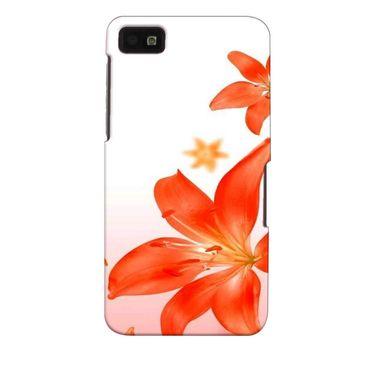 Snooky 35383 Digital Print Hard Back Case Cover For Blackberry Z10 - White