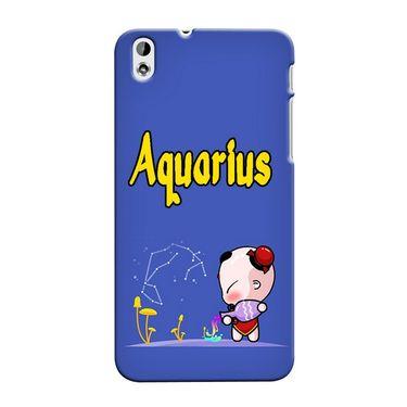 Snooky 37286 Digital Print Hard Back Case Cover For HTC Desire 816 - Purple
