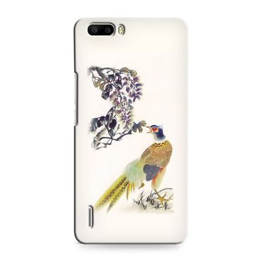 Snooky 37366 Digital Print Hard Back Case Cover For huawei honor 6 Plus - Cream
