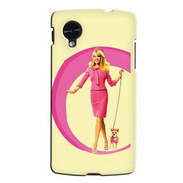 Snooky 35947 Digital Print Hard Back Case Cover For LG Google Nexus 5 - Yellow