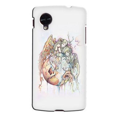Snooky 35986 Digital Print Hard Back Case Cover For LG Google Nexus 5 - Multicolour