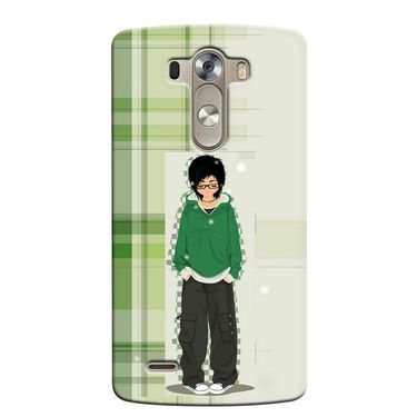 Snooky 37625 Digital Print Hard Back Case Cover For LG G3 - Green