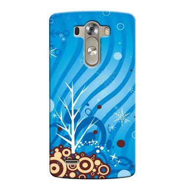 Snooky 37662 Digital Print Hard Back Case Cover For LG G3 - Blue