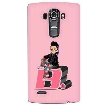 Snooky 37926 Digital Print Hard Back Case Cover For LG G4 - Pink