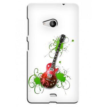Snooky 38051 Digital Print Hard Back Case Cover For Microsoft Lumia 535 - White