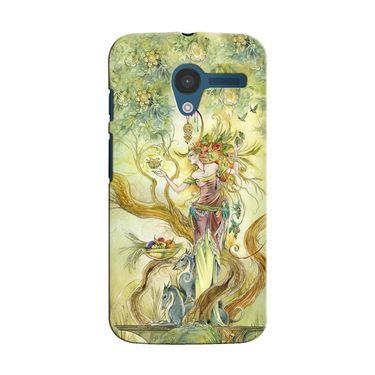 Snooky 35887 Digital Print Hard Back Case Cover For Motorola Moto X - Green